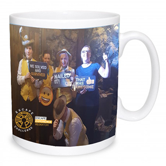 Escape Challenge standard mug - escape game personalised mug